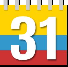Calendario 2019 Y 2020 Con Festivos Para Colombia.Calendario 2020 Colombia Calendario 2019 Colombia